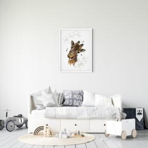 Miljøbilde av Olivia Giraffe